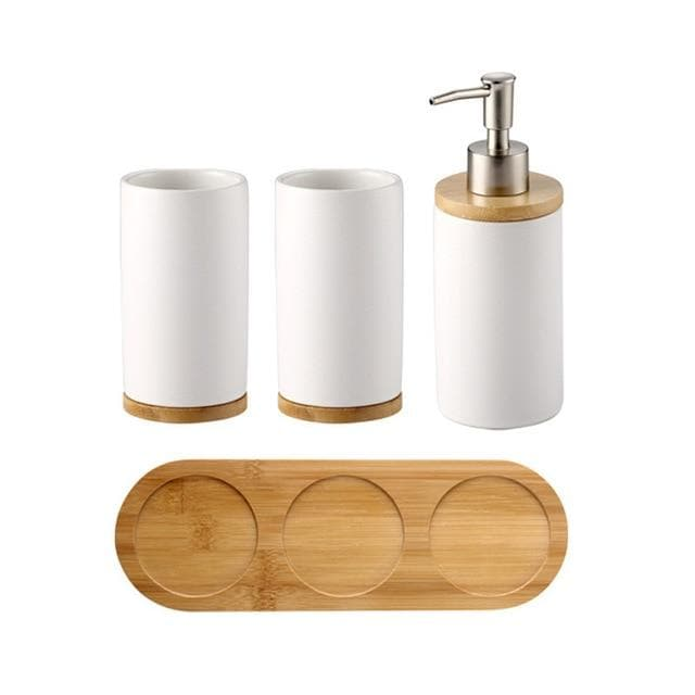 Classic Ceramic Bath Set
