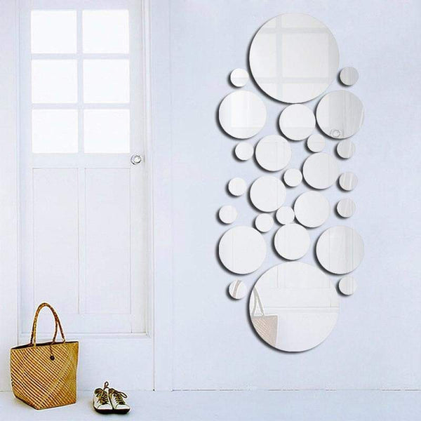 Circle Wall Sticker Mirror