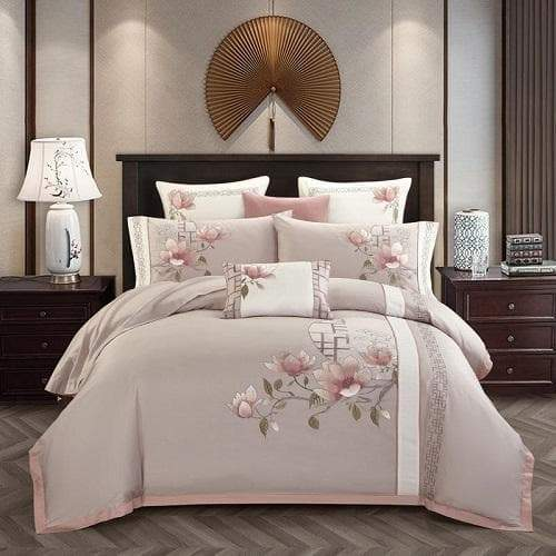 Flower Design Bedding Set