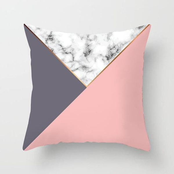 Marble Pink Separe Pillow Case