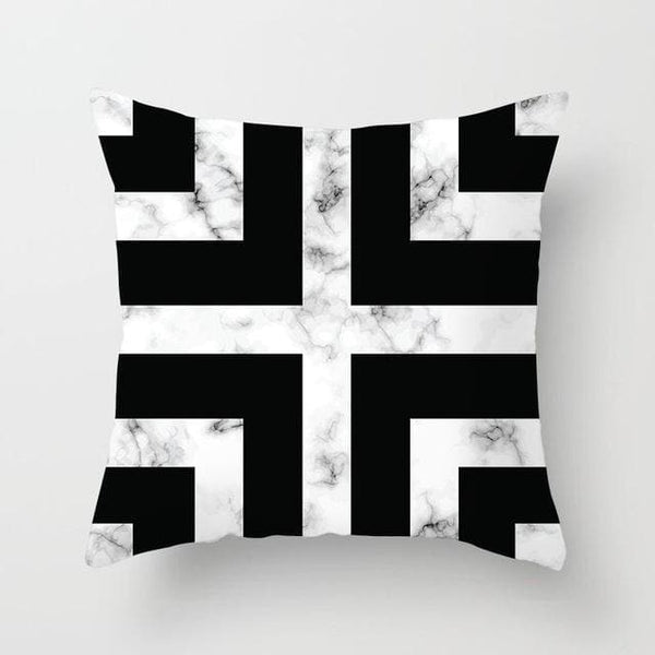 Marble Cross Pillow Case