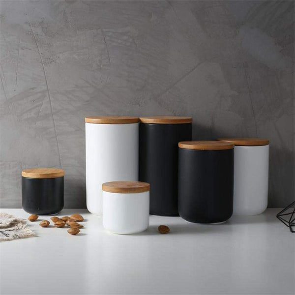 Kitchen Ceramic Storage Boxes