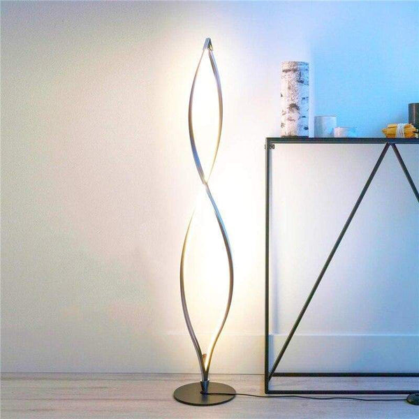 New Spiral Floor Light