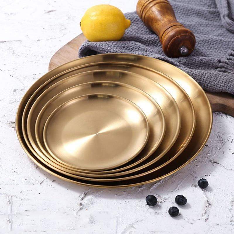 Stainless Steel Dining Plate