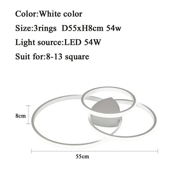 LED Ring Ceiling Light
