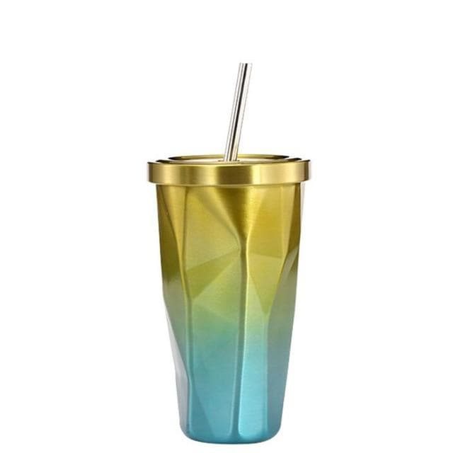 Gradient Stainless Steel Cups