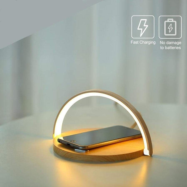 Wireless Charging semicircle Lamp