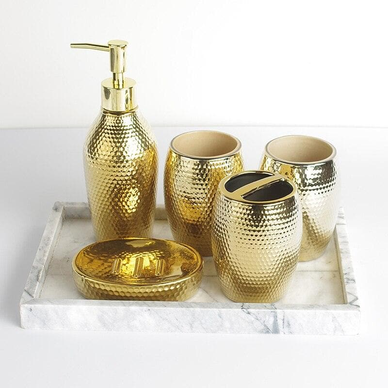 Luxury Gold Bathroom Set