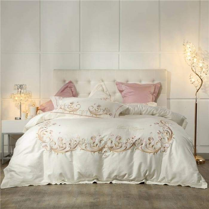 Cream Bedding Set