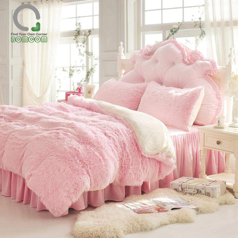 Fluffy Bedding Set