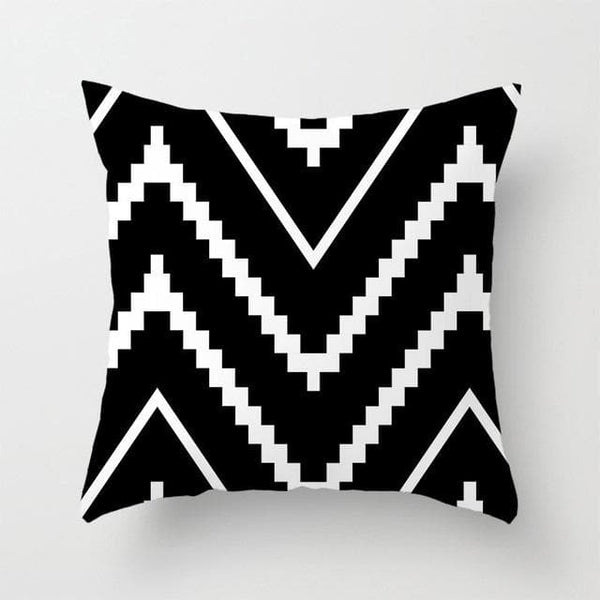 Black Layer Pillow