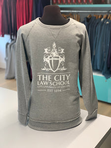 Law Fairtrade Sweatshirt (Longline and Wider Neck)