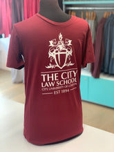 Load image into Gallery viewer, Law Crest Fairtrade T-Shirt
