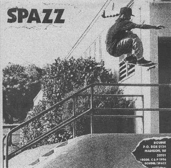 Spazz & Brutal Truth 'Split' 7""