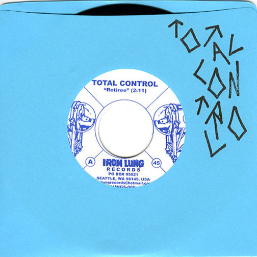 Total Control 'Retiree / Meds II' 7""