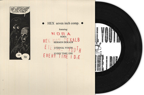 HEX Records 'Seven Inch Comp' 7""