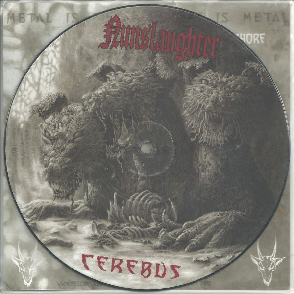 Nunslaughter 'Cerebus' 7""