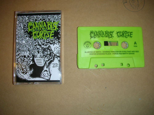 Cannabis Corpse 'Blunted at Birth' Cassette