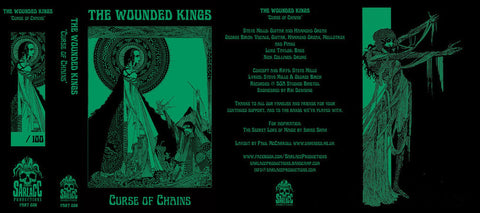 The Wounded Kings 'Curse of Chains' Cassette