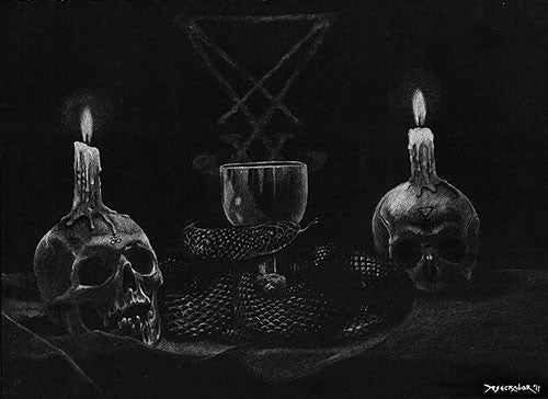 Void Meditation Cult 'Sulfurous Prayers of Blight And Darkness' LP