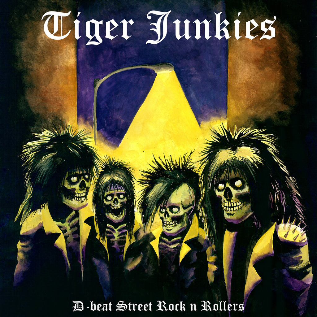 Tiger Junkies 'D-beat Street Rock n Rollers' LP
