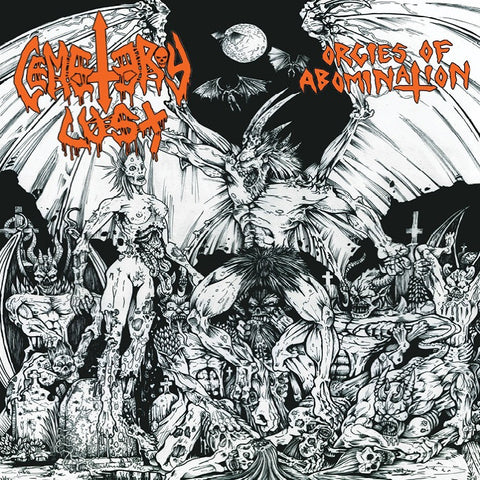 Cemetery Lust 'Orgies of Abomination' CD