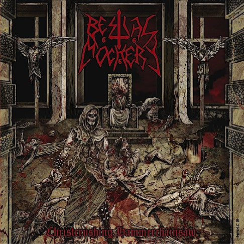 Bestial Mockery 'Christcrushing' LP