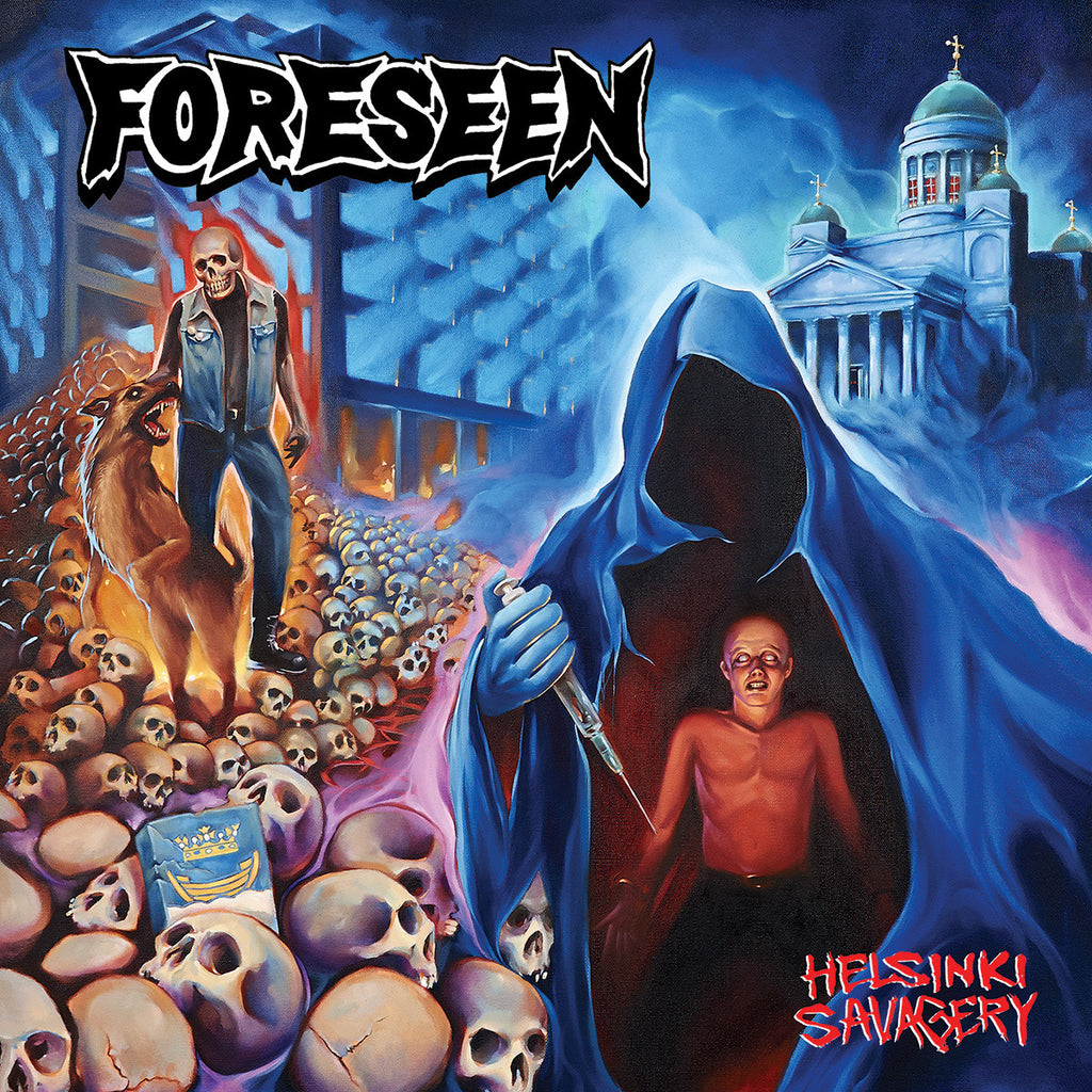 "Foreseen 'Helsinki Savagery' 12"" LP"