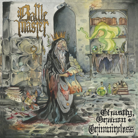 BATTLEMASTER 'Ghastly, Graven, Grimoireless' LP *pre-order*