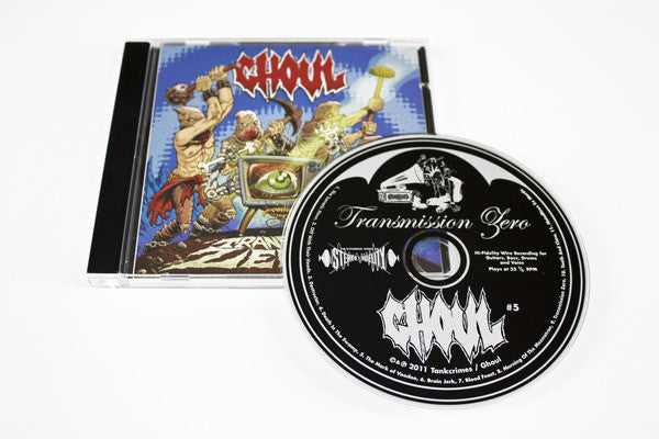 Ghoul 'Transmission Zero' CD