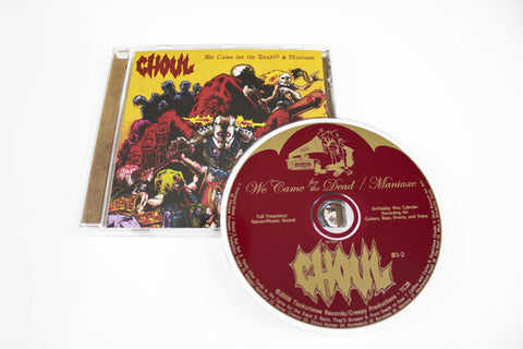 Ghoul 'We Came For the Dead!!! & Maniaxe' CD