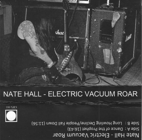 Nate Hall 'Electric Vacuum Roar' Cassette