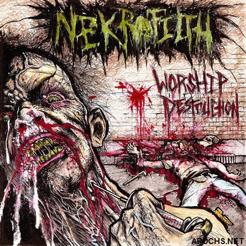 "Nekrofilth 'Worship Destruction' 12"" LP"