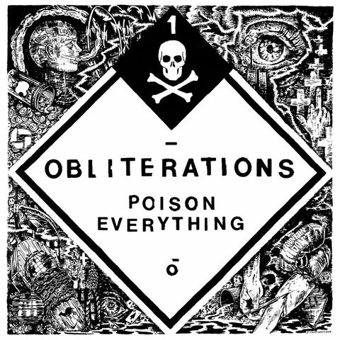 "Obliterations 'Poison Everything' 12"" LP"