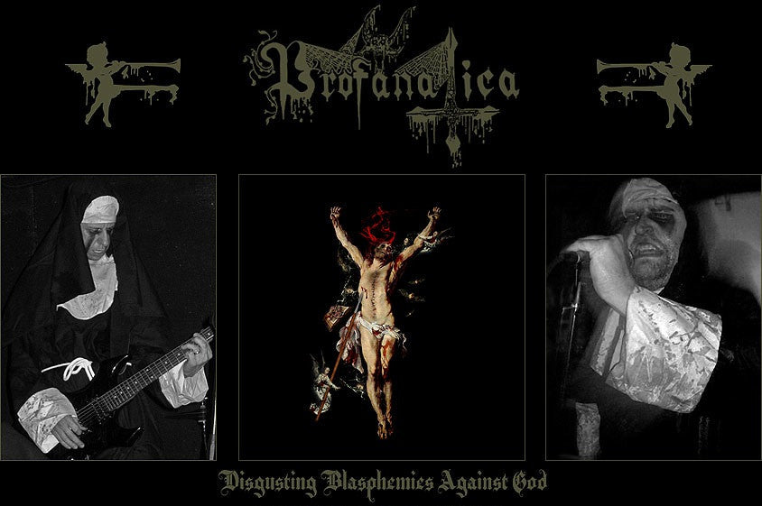 "Profanatica 'Disgusting Blasphemies Against God' 12"" LP Gatefold"