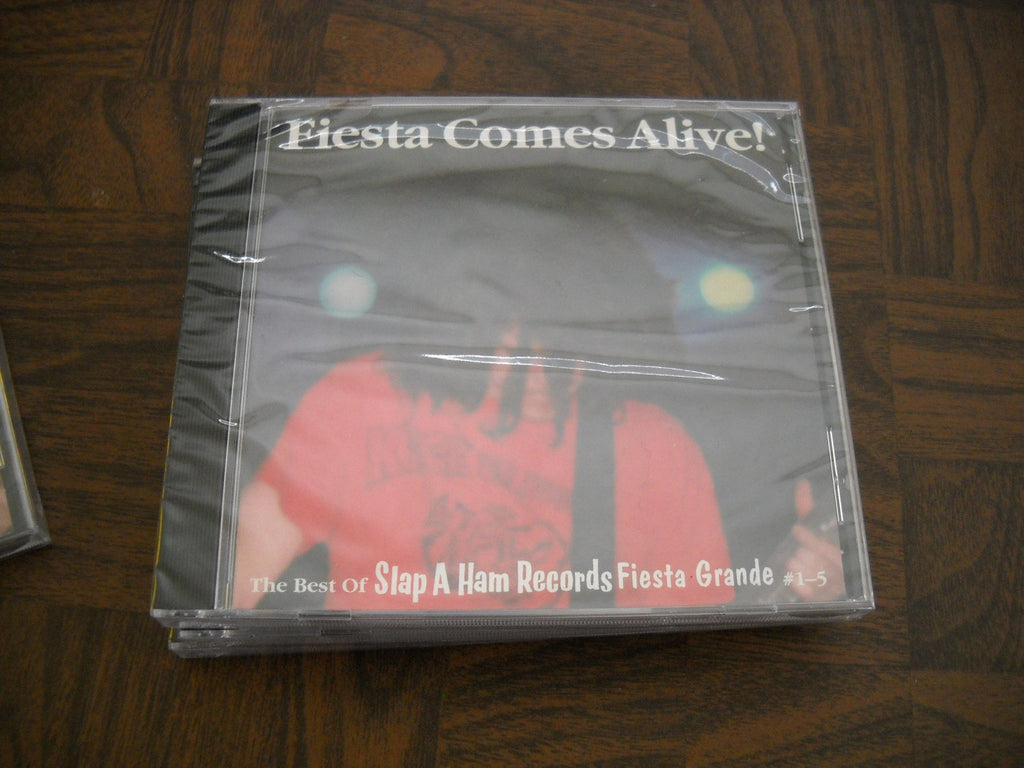 V/A - 'Fiesta Comes Alive!' - The Best of Slap A Ham Records Fiesta Grande #1-5 CD