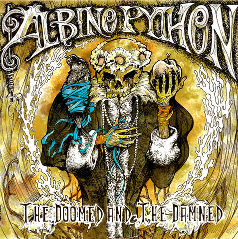 "Albino Python 'The Doomed and The Damned' 12"" LP"