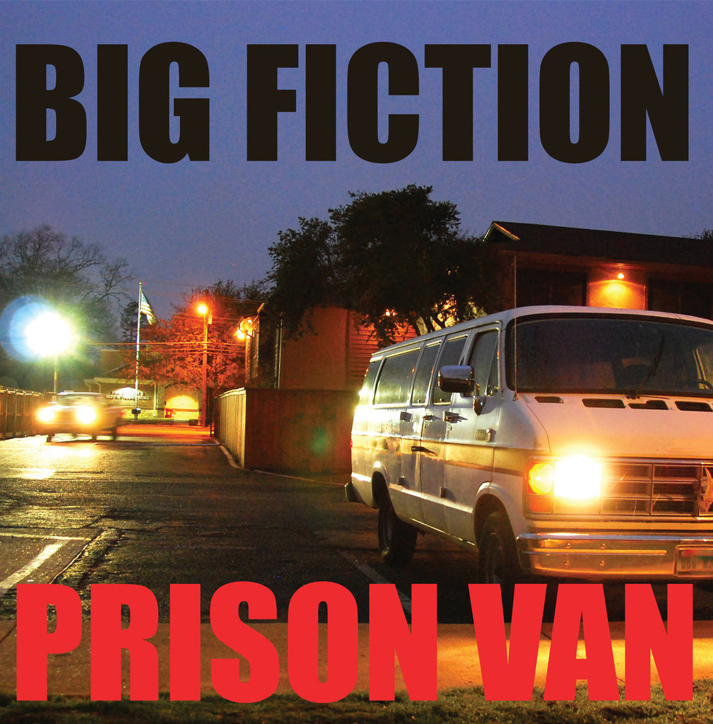 "Big Fiction 'Prison Van' 12"" LP"