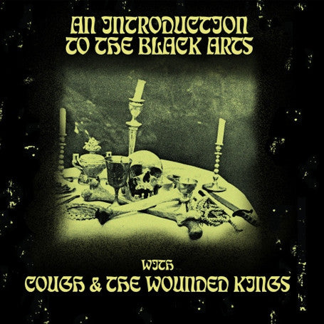"Cough / the Wounded Kings  'An Introduction to the Black Arts' split 12""LP"