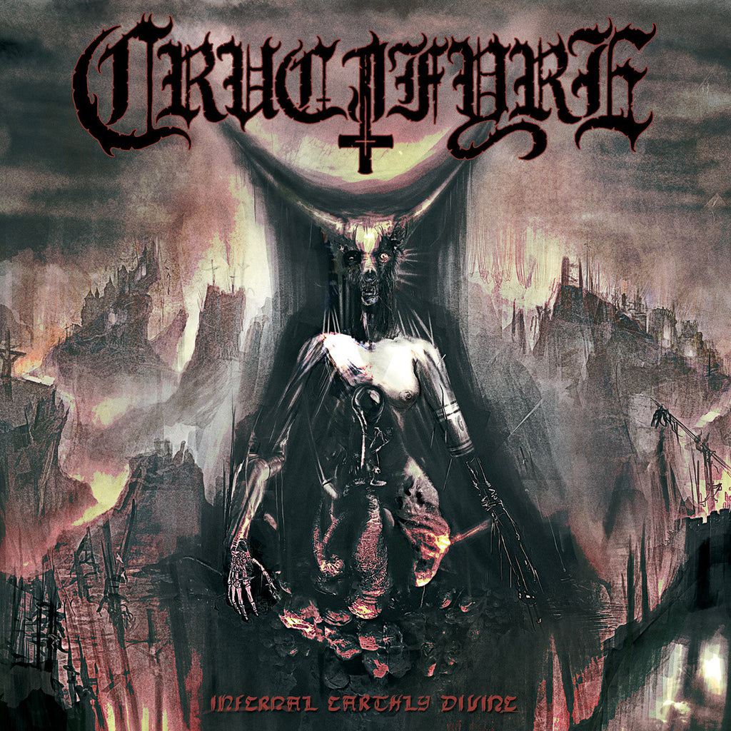 "Crucifyre 'Infernal Earthly Divine' 12"" LP"