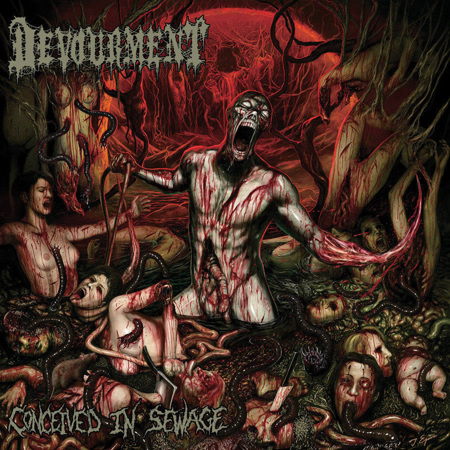Devourment 'Conceived In Sewage' CD
