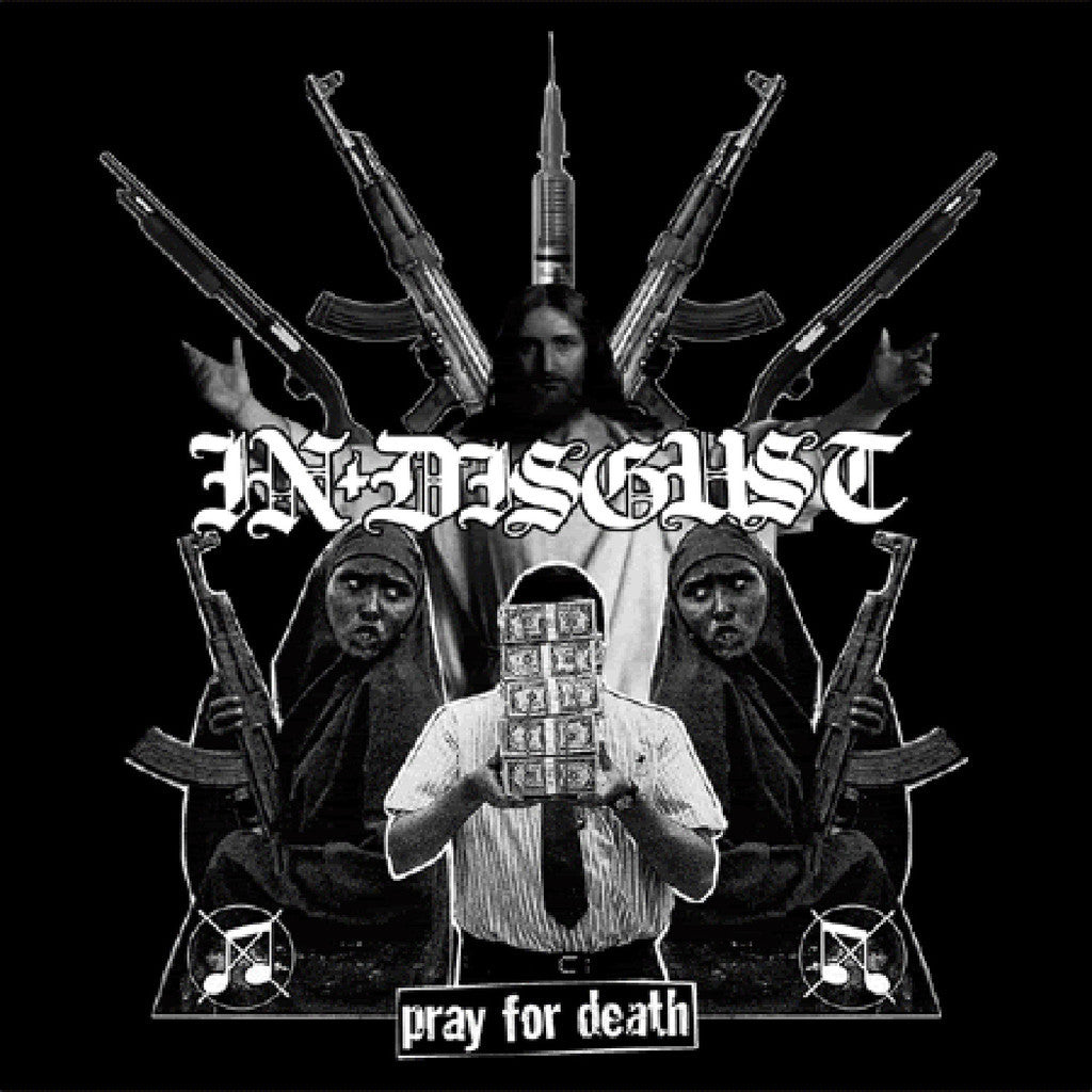 "In Disgust / PLF 'Pray for Death / Visions of Your Own Death' Split 12"" LP"