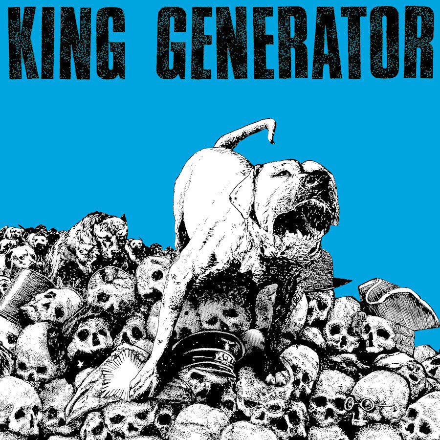 "King Generator 's/t' 12"" LP with CD Included"