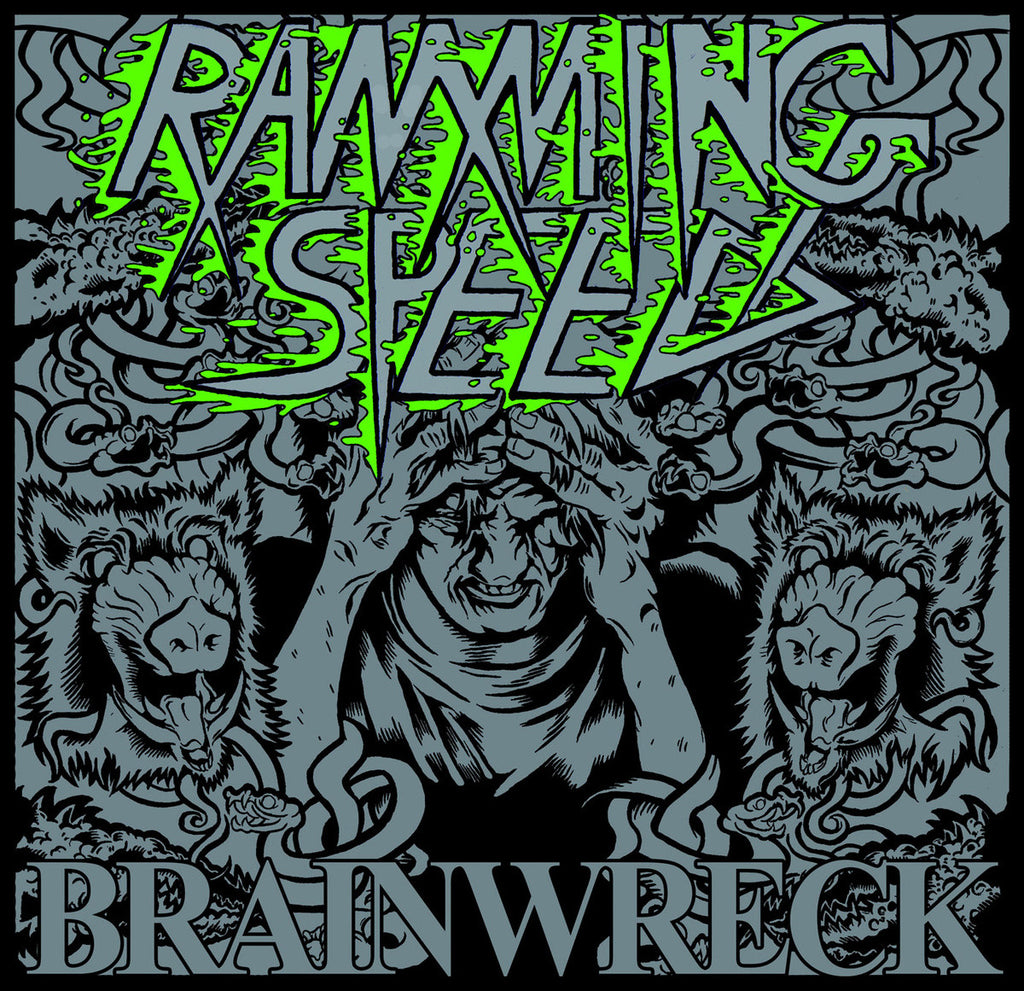 "Ramming Speed 'Brainwreck' 12"" LP"