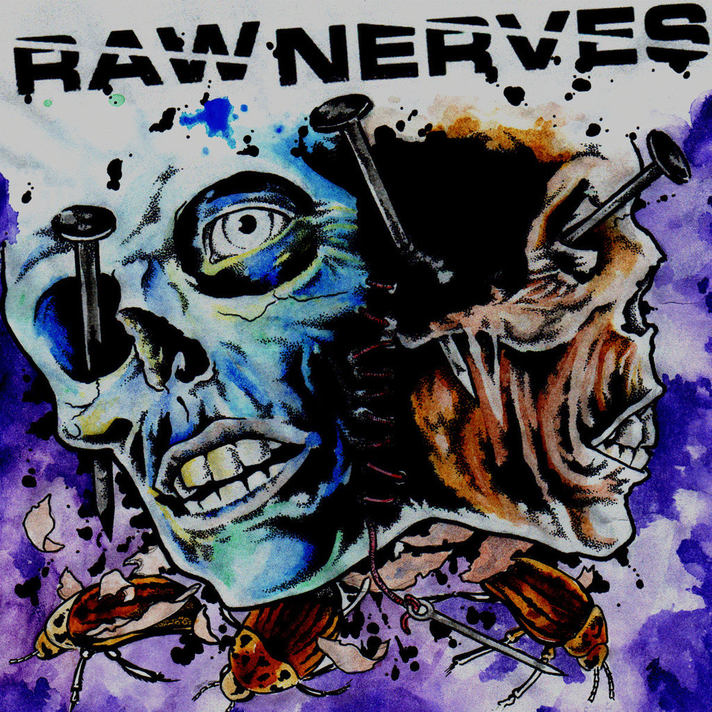 "Raw Nerves 's/t' 12"" LP"