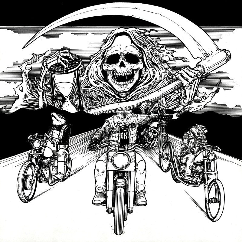 "Speedwolf 'Ride With Death' 12"" LP Gatefold"