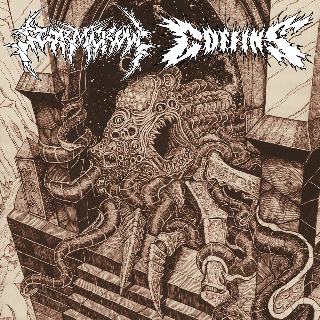 "Stormcrow / Coffins Split 12"" LP"