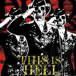 "This is Hell 's/t' Black One Sided Etched 12"" LP"