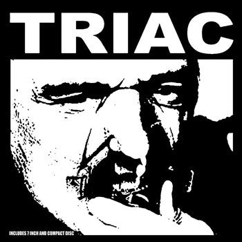 Triac  'In the Blue Room' 7″ + CDep gatefold