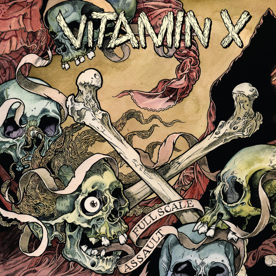 "Vitamin X 'Full Scale Assault' 12"" Gatefold LP"